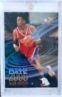 Bv200 Nice RC 1996-97 Skybox Ex2000 Star Date Rookie Allen Iverson