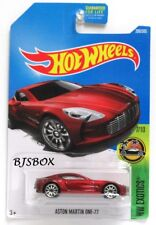 Hot Wheels 2017 ASTON MARTIN ONE-77 Red #200/365 Exotics 7/10 Rare New