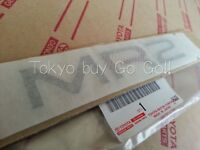 Toyota MR2 SW20 21 Rear Name Plate NEW Genuine OEM Parts 1990-1999