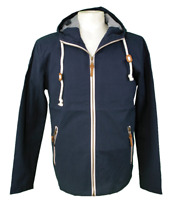 REAL HOXTON  Navy Twill 'Cumbria' Hooded Jacket    London Casuals