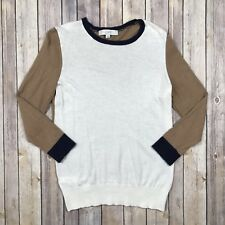 Ann Taylor LOFT Women's Long Sleeve Crew Neck Sweater Rabbit Hair Size Small