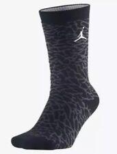 Nike Air Jordan Retro 3 Crew Socks Elephant Print SX5342-010 Mens 6-8 NWT $16