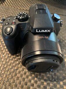 Panasonic DMC-FZ1000 LUMIX 4k camera 20.1MP Leica Lens black f2.8-4.0 parts only