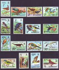 St Vincent 1970 SC 279-294 MNH Set Bird