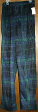 JOE BOXERS MICROFIBER  FLANNEL PANTS  MENS  SMALL