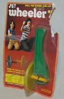 1977 Dewalt PST Wheeler Powerful Spinning Toy, Vintage, NOS, Unbreakable Classic