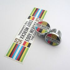 Celebrating Eddy Merckx, The Cannibal 525 Wins, Chrome Bar Plugs & Bar Trim Tape