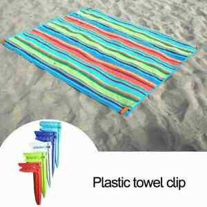 1/5/8PCS Hand Tea Towel Hangers Hooks Clips Loops Clip Hanging