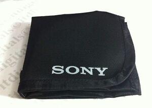 Genuine Sony Filter Case Holder Pouch Wallet Purse Lens 2 Pockets OEM Original