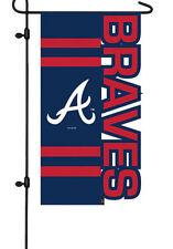 Atlanta Braves Garden Flag Licensed Sports MLB Lic. Baseball Lawn Decor