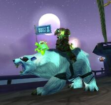 Wow Loot Polar Bear - Großer Blizzardbär - Blizzcon BIG POLAR BEAR with Murloc