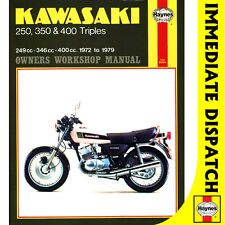 [0134] Kawasaki 250 350 400 Triples KH S1 S2 S3 1972-79 Haynes Workshop Manual