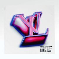 100% AUTHENTIC NEW Louis Vuitton LV 3D Bandana VIRGIL SS19