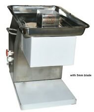 Brand New Stainless Meat Cutting Machine with 5mm blade Techtongda Us Hot