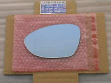 858L Mirror Glass fits 08-11 BMW M3 Z4 3 Series Driver Side View Left SEE NOTES