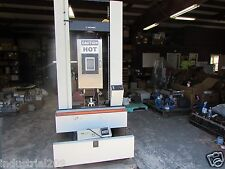 INSTRON TENSILE AND COMPRESSION TESTING MACHINE MODEL 4204 USED