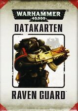 Raven Guard data carte (tedesco) Games Workshop Warhammer 40.000 40k GW