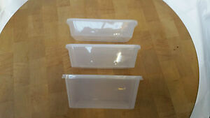 Clear Plastic Microwave Food Containers With Lid Takeaway Meal Food Prep