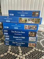 Gibsons - 1000 PIECE JIGSAW PUZZLE - Set Of 6