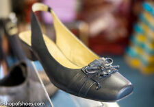 Caprice blue leather sling back shoe.great looking everning or day shoe RRP£65