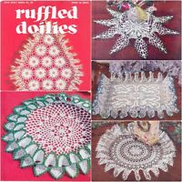Star Book #74 1950s 14 Project Doilies Pillow case Crochet Book Pattern PDF 0021
