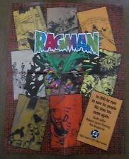 Ragman promo poster 1991 Pat Broderick art. DC Comics miniseries