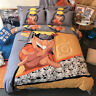Anime NARUTO 100% Cotton Duvet Cover Sheet Bedding Bed Sets Set Twin Queen King