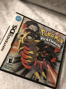 Pokémon Platinum Version (Nintendo DS, 2009)