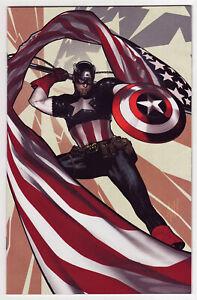 CAPTAIN AMERICA #1 Adam Hughes 1:500 Virgin Variant Marvel NM