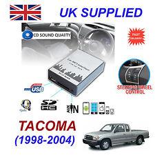 TACOMA 1998-04 MP3 SD USB CD AUX Input Audio Adapter Digital CD Changer Module