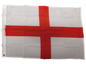 3ft x 2ft England St George Cross Flag With Eyelets FAST FREE UK Delivery!
