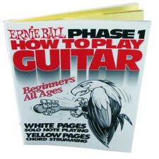 Ernie Ball 7001 How To Play Guitar Phase 1 Book