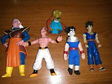DBZ Dragon Ball Z Action Figure Lot Soft Gohan 1989 Majin Buu Babadi Kabuto Teen