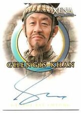 Quotable Xena Auto card - A49 George Kee Cheung as Ghengis Khan