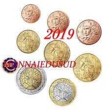 Série 1 Cent à 2 Euro BU France 2019 - Brillant Universel
