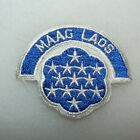 Vietnam War USA MAAG Laos Military Assistance Advisory Group Patch - REPRO