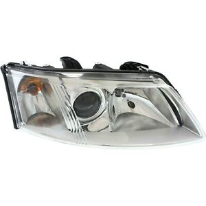 Headlight For 2003-2005 2006 2007 Saab 43711 Right With Bulb