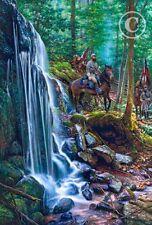 """Shenandoah Mountain Passage"" by John Paul Strain L/E signed Civil War Print new"