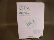 Casio AP-80R keyboard user guide original manual