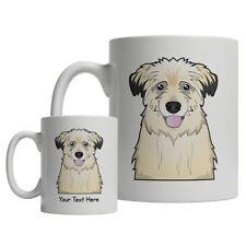 Pyrenean Shepherd Dog Cartoon Mug - Personalized Text Coffee Tea Cup