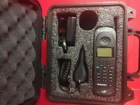 Qualcomm GSP-1600 GlobalStar Tri-Mode Satellite Phone In Weatherproof Case