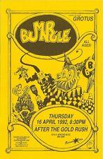 MR. BUNGLE - original vintage concert flyer 1992, Phoenix, AZ Mike Patton FNM