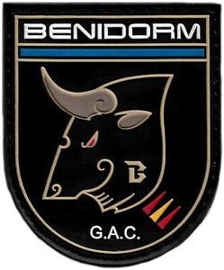 POLICIA NACIONAL CNP GRUPO ATENCION CIUDADANO GAC BENIDORM EMBLEMA PARCHE EB1517