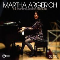 MARTHA ARGERICH - THE WARNER CLASSICS RECORDINGS  20 CD NEU BEETHOVEN/CHOPIN
