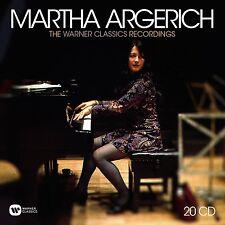 MARTHA ARGERICH - THE WARNER CLASSICS RECORDINGS  20 CD NEU BEETHOVEN/CHOPIN