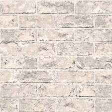 Tapete Steinoptik Stein-Wand Stein Naturstein grau weiß Moroccan 623009 3,18€//1