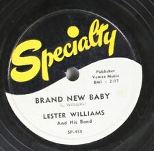 Hear! Blues 78 Lester Williams - Brand New Baby / If You Knew How Much I Love Yo