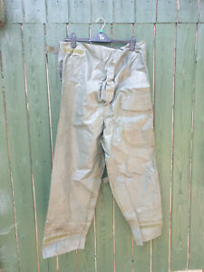 US ARMY OVERALL WET WEATHER TROUSERS 1975 DATED