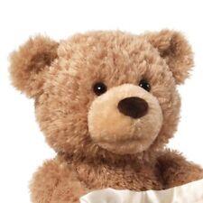 "GUND Peek-A-Boo Teddy Bear Animated Stuffed Animal Plush, 11.5""  Brown"