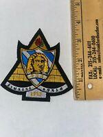 Kappa Sigma Stripped Multi Crest Design Handkerchief//Hanky Kappa Sig